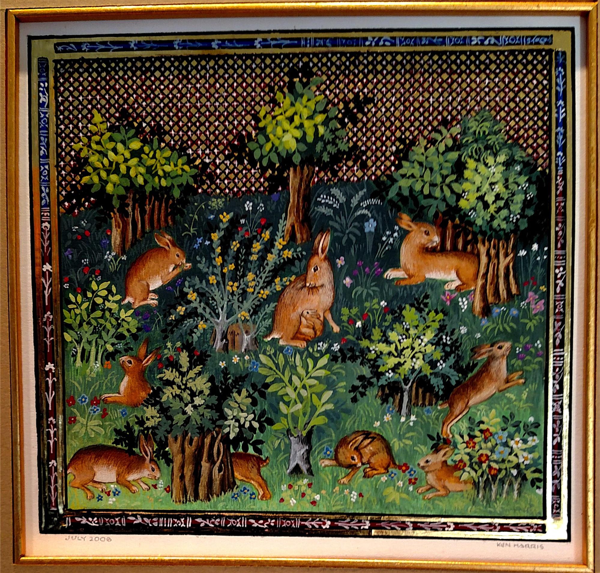 Medieval Bunnies by Ken Harris